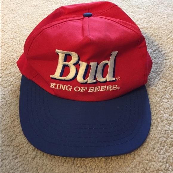 budweiser Other - Vintage beer Budweiser SnapBack trucker hat bud 68fdee133632